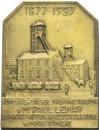 Photo numismatique  ARCHIVES VENTE 2013 -Coll Henri Dolet JETONS ET MEDAILLES DES MINES Mines d'ANICHE (Nord)  730- Médaille.