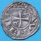 Photo numismatique  MONNAIES BARONNIALES Comté de ROUSSILLON GAUSFRED III (1115-1164) Denier.