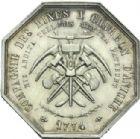 Photo numismatique  ARCHIVES VENTE 2013 -Coll Henri Dolet JETONS ET MEDAILLES DES MINES Mines d'ANICHE (Nord)  728- Lot.