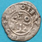 Photo numismatique  MONNAIES BARONNIALES Comté de ROUSSILLON GAUSFRED III (1115-1164) Obole.