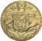 Photo numismatique  ARCHIVES VENTE 2013 -Coll Henri Dolet MÉDAILLES DE GRAND MODULE Valenciennes  716- Tricentenaire du rattachement de Valenciennes en 1978.