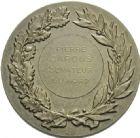 Photo numismatique  ARCHIVES VENTE 2013 -Coll Henri Dolet MEDAILLES DE GRAND MODULE Valenciennes  714- Pierre Carous, sénateur du Nord.