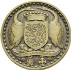 Photo numismatique  ARCHIVES VENTE 2013 -Coll Henri Dolet MEDAILLES DE GRAND MODULE Valenciennes  713- La Ville de Valenciennes.