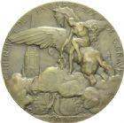 Photo numismatique  ARCHIVES VENTE 2013 -Coll Henri Dolet MÉDAILLES DE GRAND MODULE Valenciennes- Beaux-Arts  709- Centenaire de JB. Carpeaux et de C. Crauk, 1927.
