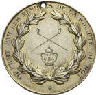Photo numismatique  ARCHIVES VENTE 2013 -Coll Henri Dolet MEDAILLES DE GRAND MODULE Valenciennes- Sociétés diverses  705- Concours de Tabac des 5 et 6 août 1894 à Valenciennes.