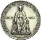 Photo numismatique  ARCHIVES VENTE 2013 -Coll Henri Dolet MEDAILLES DE GRAND MODULE Personnages divers  697- Hommage à Jean Froissart.