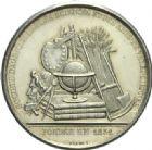 Photo numismatique  ARCHIVES VENTE 2013 -Coll Henri Dolet MEDAILLES DE GRAND MODULE Valenciennes- Sociétés diverses  695- Société d'Agriculture des Sciences et des Arts de Valenciennes, fondée en 1831.