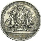 Photo numismatique  ARCHIVES VENTE 2013 -Coll Henri Dolet MEDAILLES DE GRAND MODULE Valenciennes- Sociétés diverses  690- Académie de Peinture et Sculpture de Valenciennes, établie en 1785.