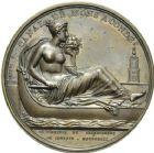 Photo numismatique  ARCHIVES VENTE 2013 -Coll Henri Dolet MÉDAILLES DE GRAND MODULE Canaux  687- Canal de Mons à Condé, 1813.