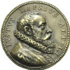 Photo numismatique  ARCHIVES VENTE 2013 -Coll Henri Dolet MEDAILLES DE GRAND MODULE Personnages divers  675- Juste LIPSIUS.