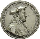 Photo numismatique  ARCHIVES VENTE 2013 -Coll Henri Dolet MÉDAILLES DE GRAND MODULE Personnages divers  674- Antoine PERRENOT, cardinal de Granvelle, archevêque de Malines.