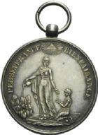 Photo numismatique  ARCHIVES VENTE 2013 -Coll Henri Dolet SOCIETE DES INCAS DE VALENCIENNES   663- Médaille de la Société 1880.