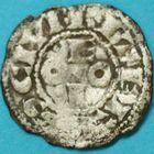 Photo numismatique  MONNAIES BARONNIALES Vicomté de BEZIERS ROGER 1er (1130-1150) Denier.