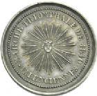 Photo numismatique  ARCHIVES VENTE 2013 -Coll Henri Dolet SOCIETE DES INCAS DE VALENCIENNES   657- Jeton en argent de la marche de 1840.