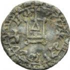 Photo numismatique  ARCHIVES VENTE 2013 -Coll Henri Dolet PLOMBS ET MÉREAUX VALENCIENNES  636- Méreaux de plomb (13e-14e et 17e siècles).