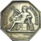 Photo numismatique  ARCHIVES VENTE 2013 -Coll Henri Dolet JETONS et MEDAILLES de la PERIODE MODERNE VALENCIENNES ET NORD  622- Jetons de la Bourse de Commerce de Valenciennes, commission des cotes.