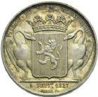 Photo numismatique  ARCHIVES VENTE 2013 -Coll Henri Dolet JETONS et MEDAILLES de la PERIODE MODERNE VALENCIENNES ET NORD  607- Passage de Charles X à Valenciennes le 5 septembre 1827.