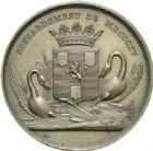 Photo numismatique  ARCHIVES VENTE 2013 -Coll Henri Dolet JETONS et MEDAILLES de la PERIODE MODERNE VALENCIENNES ET NORD  606- *Médaille de la prise de la ville par les Anglais, le 25 juillet 1793.