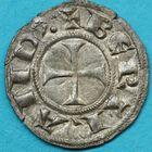 Photo numismatique  MONNAIES BARONNIALES Comté de PROVENCE BERTRAND de FORCALQUIER (1150-1208) Denier.