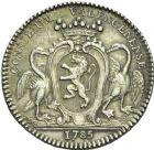 Photo numismatique  ARCHIVES VENTE 2013 -Coll Henri Dolet JETONS DE L'ANCIEN RÉGIME VALENCIENNES Conseil de la Ville. 579- Jetons du magistrat. 4e type.