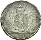 Photo numismatique  ARCHIVES VENTE 2013 -Coll Henri Dolet JETONS DE L'ANCIEN RÉGIME VALENCIENNES Conseil de la Ville. 574- Jetons du magistrat. 4e type.