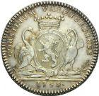 Photo numismatique  ARCHIVES VENTE 2013 -Coll Henri Dolet JETONS DE L'ANCIEN REGIME VALENCIENNES Conseil de la Ville. 572- Jetons du magistrat. 2e type.