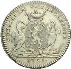Photo numismatique  ARCHIVES VENTE 2013 -Coll Henri Dolet JETONS DE L'ANCIEN REGIME VALENCIENNES Conseil de la Ville. 571- Jetons du magistrat. 1er type.