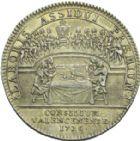Photo numismatique  ARCHIVES VENTE 2013 -Coll Henri Dolet JETONS DE L'ANCIEN RÉGIME VALENCIENNES Conseil de la Ville. 565- Jeton du magistrat.