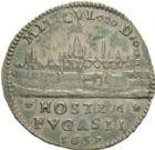 Photo numismatique  ARCHIVES VENTE 2013 -Coll Henri Dolet JETONS DE L'ANCIEN REGIME VALENCIENNES Délivrance de la Ville, juin 1657. 562- Jeton 1657.