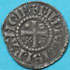 Photo numismatique  MONNAIES BARONNIALES Comté de PROVENCE CHARLES Ier d'ANJOU (1246-1285) Denier Mansois.