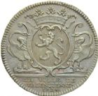 Photo numismatique  ARCHIVES VENTE 2013 -Coll Henri Dolet JETONS DE L'ANCIEN REGIME VALENCIENNES Intendants du Hainaut 559- Félix Aubéry marquis de Vastan, 1724-1727.