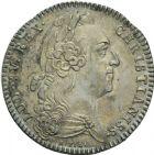 Photo numismatique  ARCHIVES VENTE 2013 -Coll Henri Dolet JETONS DE L'ANCIEN RÉGIME HAINAUT FRANCAIS  553- Domaines et bois du Hainaut 1743.