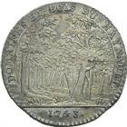 Photo numismatique  ARCHIVES VENTE 2013 -Coll Henri Dolet JETONS DE L'ANCIEN REGIME HAINAUT FRANCAIS  553- Domaines et bois du Hainaut 1743.