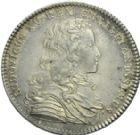 Photo numismatique  ARCHIVES VENTE 2013 -Coll Henri Dolet JETONS DE L'ANCIEN RÉGIME HAINAUT FRANCAIS  551- HAINAUT FRANÇAIS. Domaines et bois du Hainaut 1724.