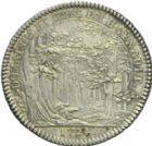 Photo numismatique  ARCHIVES VENTE 2013 -Coll Henri Dolet JETONS DE L'ANCIEN REGIME HAINAUT FRANCAIS  551- HAINAUT FRANÇAIS. Domaines et bois du Hainaut 1724.