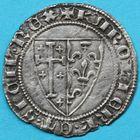 Photo numismatique  MONNAIES BARONNIALES Comté de PROVENCE CHARLES Ier d'ANJOU (1246-1285) Salut d'argent.
