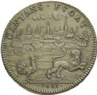 Photo numismatique  ARCHIVES VENTE 2013 -Coll Henri Dolet JETONS DE L'ANCIEN REGIME ARTOIS  545- Prise d'Arras, Parties casuelles 1655.