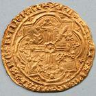 Photo numismatique  MONNAIES VOLEES BARONNIALES Comté de PROVENCE LOUIS Ier (1382-1384) Franc d'or.