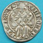 Photo numismatique  MONNAIES BARONNIALES Comtat VENAISSIN INNOCENT VI (1352-1362) Demi gros frappé à Avignon.