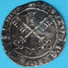 Photo numismatique  MONNAIES BARONNIALES Comtat VENAISSIN MARTIN V (1417-1431) Carlin frappé à Avignon.