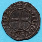 Photo numismatique  MONNAIES BARONNIALES Principauté d'ORANGE RAYMOND V (1340-1393) Denier.
