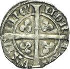 Photo numismatique  ARCHIVES VENTE 2013 -Coll Henri Dolet MONNAIES DU HAINAUT - VALENCIENNES Comté de HAINAUT GUILLAUME Ier (1304-1337) 449- Demi-durant, Valenciennes après 1314.