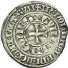 Photo numismatique  ARCHIVES VENTE 2013 -Coll Henri Dolet MONNAIES DU HAINAUT - VALENCIENNES Comté de HAINAUT GUILLAUME Ier (1304-1337) 447- Eskiellois, (Valenciennes) à partir d'octobre 1312.