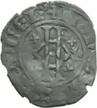 Photo numismatique  ARCHIVES VENTE 2013 -Coll Henri Dolet MONNAIES DU HAINAUT - VALENCIENNES Comté de HAINAUT GUILLAUME Ier (1304-1337) 444- Bourgeois, Valenciennes.