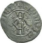 Photo numismatique  ARCHIVES VENTE 2013 -Coll Henri Dolet MONNAIES DU HAINAUT - VALENCIENNES Comté de HAINAUT GUILLAUME Ier (1304-1337) 443- Bourgeois, Valenciennes.