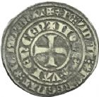 Photo numismatique  ARCHIVES VENTE 2013 -Coll Henri Dolet MONNAIES DU HAINAUT - VALENCIENNES Comté de HAINAUT GUILLAUME Ier (1304-1337) 441- Gros tournois « Guillemot », Valenciennes en 1306/1309.