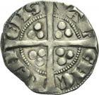 Photo numismatique  ARCHIVES VENTE 2013 -Coll Henri Dolet MONNAIES DU HAINAUT - VALENCIENNES Comté de HAINAUT JEAN II d'Avesnes (1280-1304) 436- Esterlin, Valenciennes en 1299.