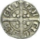Photo numismatique  ARCHIVES VENTE 2013 -Coll Henri Dolet MONNAIES DU HAINAUT - VALENCIENNES Comté de HAINAUT JEAN II d'Avesnes (1280-1304) 435- Esterlin, Valenciennes vers 1297/1298.