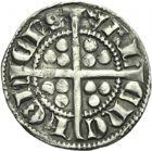 Photo numismatique  ARCHIVES VENTE 2013 -Coll Henri Dolet MONNAIES DU HAINAUT - VALENCIENNES Comté de HAINAUT JEAN II d'Avesnes (1280-1304) 433- Esterlin, Valenciennes vers 1297/1298.
