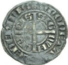Photo numismatique  ARCHIVES VENTE 2013 -Coll Henri Dolet MONNAIES DU HAINAUT - VALENCIENNES Comté de HAINAUT JEAN II d'Avesnes (1280-1304) 429- Baudekin du 1er type, Valenciennes, vers 1300/1302.